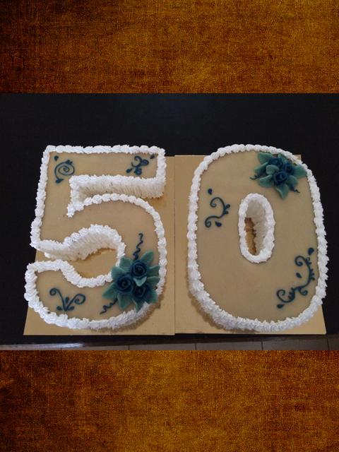 50 szülinapi torta Gabi Cukrászat | Esküvői torták | Figurás torták | Hagyományos  50 szülinapi torta